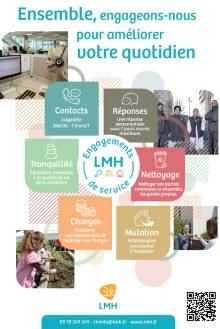 Affiche Engagements de service LMH