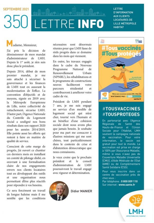 Lettre Info 350